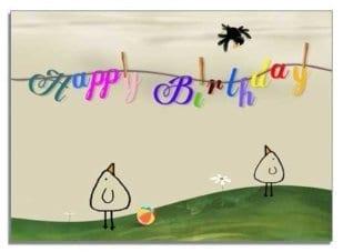 Happy Birthday - Piep 1