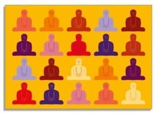 Twenty Buddhas 1