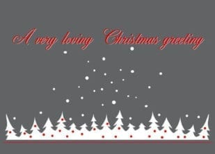 A very loving Christmas Greeting 1