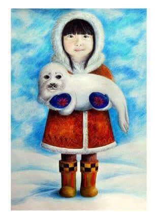 Eskimomädchen 1