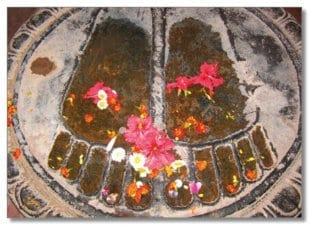 Buddhas Fußabdruck 1