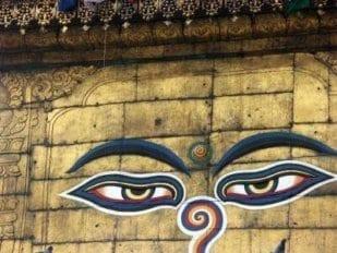Buddhas Augen 1