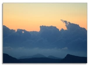 Abendwolken 1