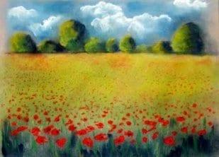Landschaft Pastell I 1