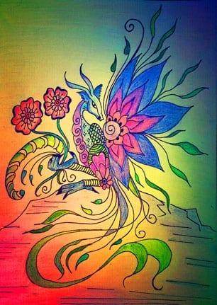 Blumendrache 1