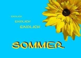 Endlich Sommer 1