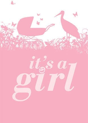 Its a girl 1