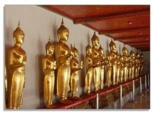 Golden Buddhas 1