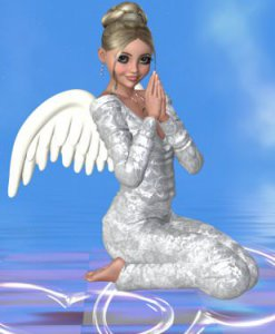 Postkarte Engel