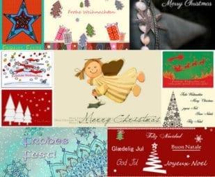Postkarten 10er-Set-Weihnachten