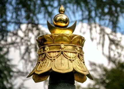 stupakrone in vimaladhatu
