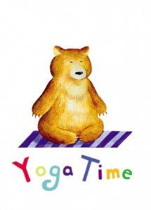 Yoga-Bär