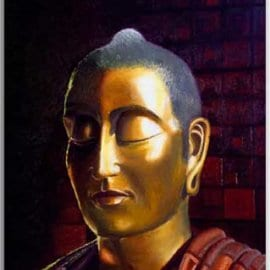 Postkarte Buddha