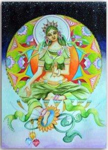 Postkarte Tara