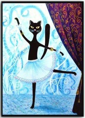 Postkarte Dancing Queen