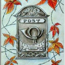 Postkarte Post