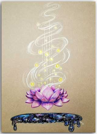 Postkarte Sound of Dharma