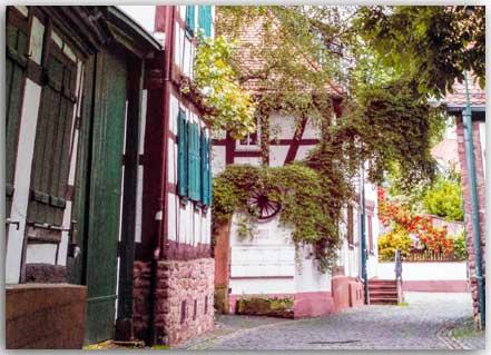 Postkarte Dietzenbach-Altstadt