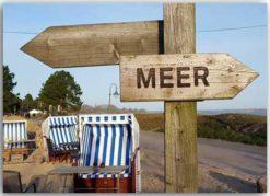 Postkarte Meer