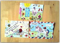 Schöne Postkarten für eine bessere Welt 1