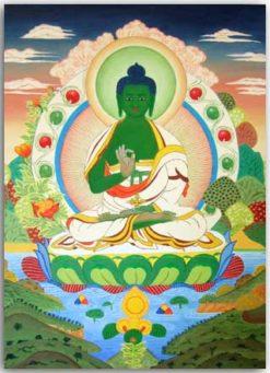 Postkarte Amoghasiddhi