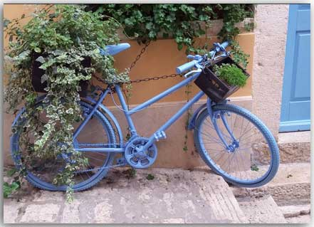 Blue Bicycle 1