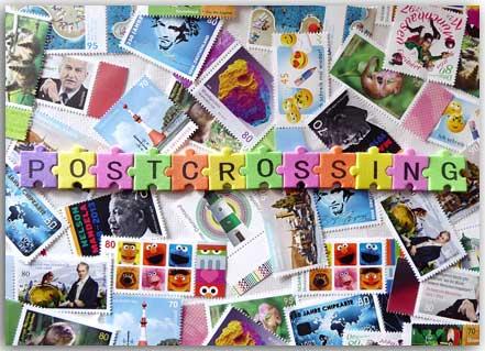 Postkarte Postcrossing