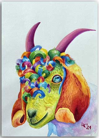 Postkarte Esmeralda