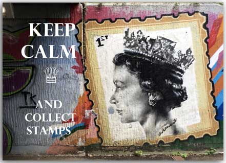 Postcard God save the Queen